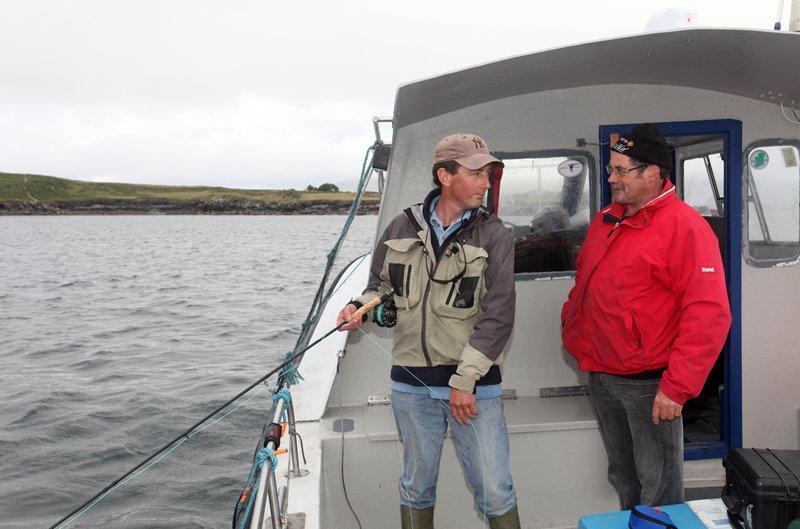 Auf dem Boot von Nealie Lyne.