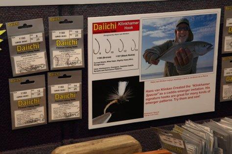 Der neue Klinkhamerhaken von Daiichi ist ab sofort erhältlich (Bild: Rudy van Duijnhoven).