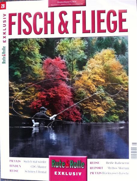 Sehr stimmungsvoll: das neue Cover von Fisch & Fliege