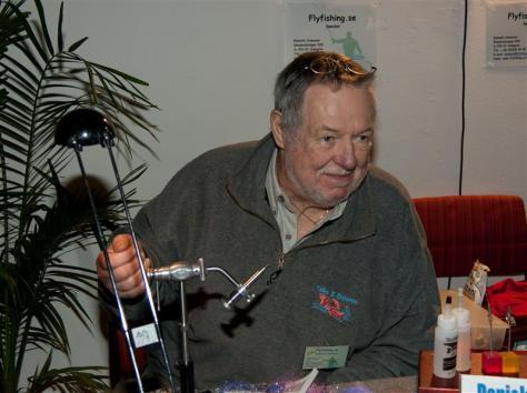 Kenneth Svensson zeigte seine Hechtmuster.