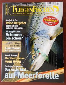 Die neue Ausgabe von FliegenFischen.