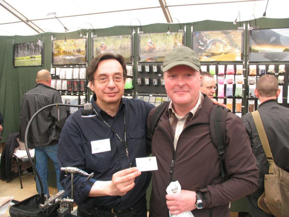 Robert mit Marc Petitjean.