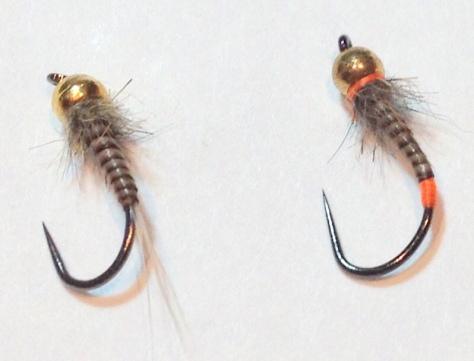 Die favorisierten Mininymphen. Links: Quillnymphe, rechts: JAesche Nymphe.