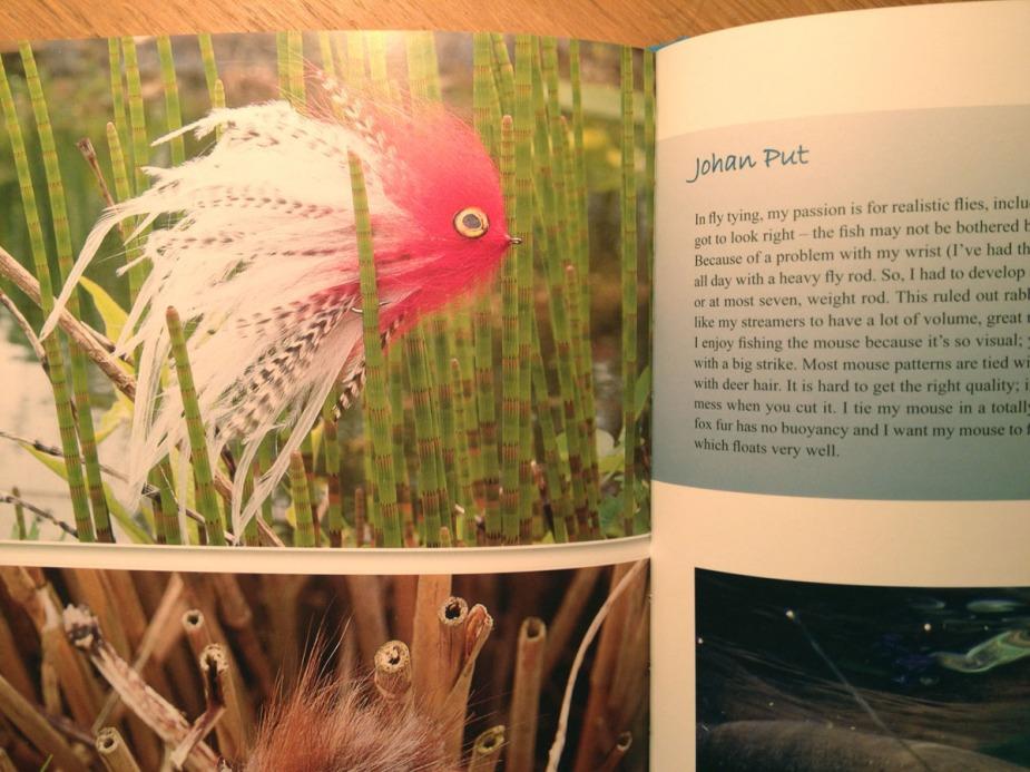 Namhafte Binder und Angler aus vielen Ländern sind im Buch vertreten.