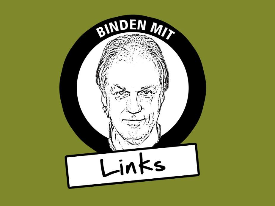 Die Bildmarke einer neuen Serie Bindeanleitungen.