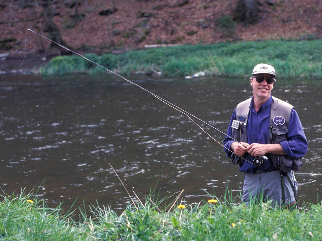 Blickt zurück auf 5 Jahrzehnte am Wasser: Leon Links.