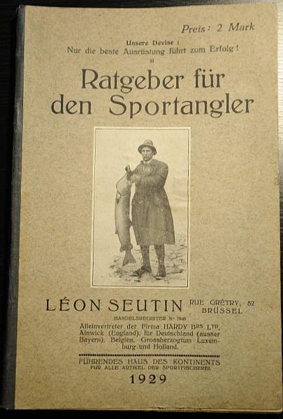 Ratgeber für den Sportangler aus 1929 (Quelle: Wolfgang Kalweit)
